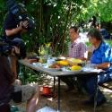 Kochen im Garten