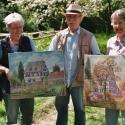 Gemälde mit und für den Biogarten