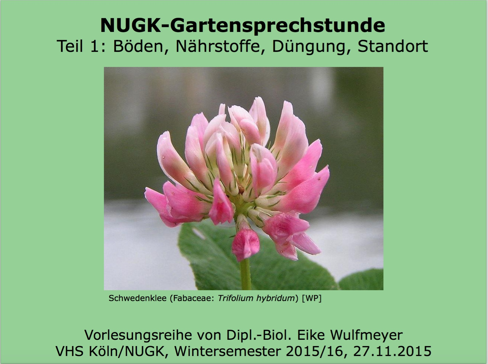 Garten-Wissen